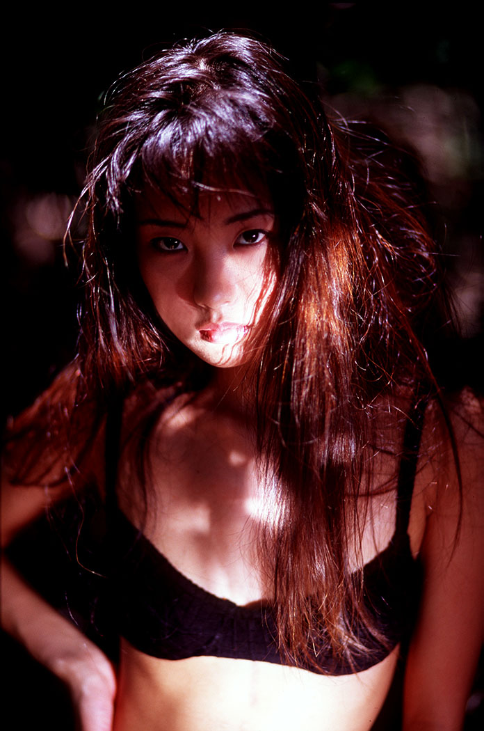 [N/S Eyes] 1999.08.24 No.021 Marie Kikuchi 菊池万里江 [65P9MB]Real Street Angels