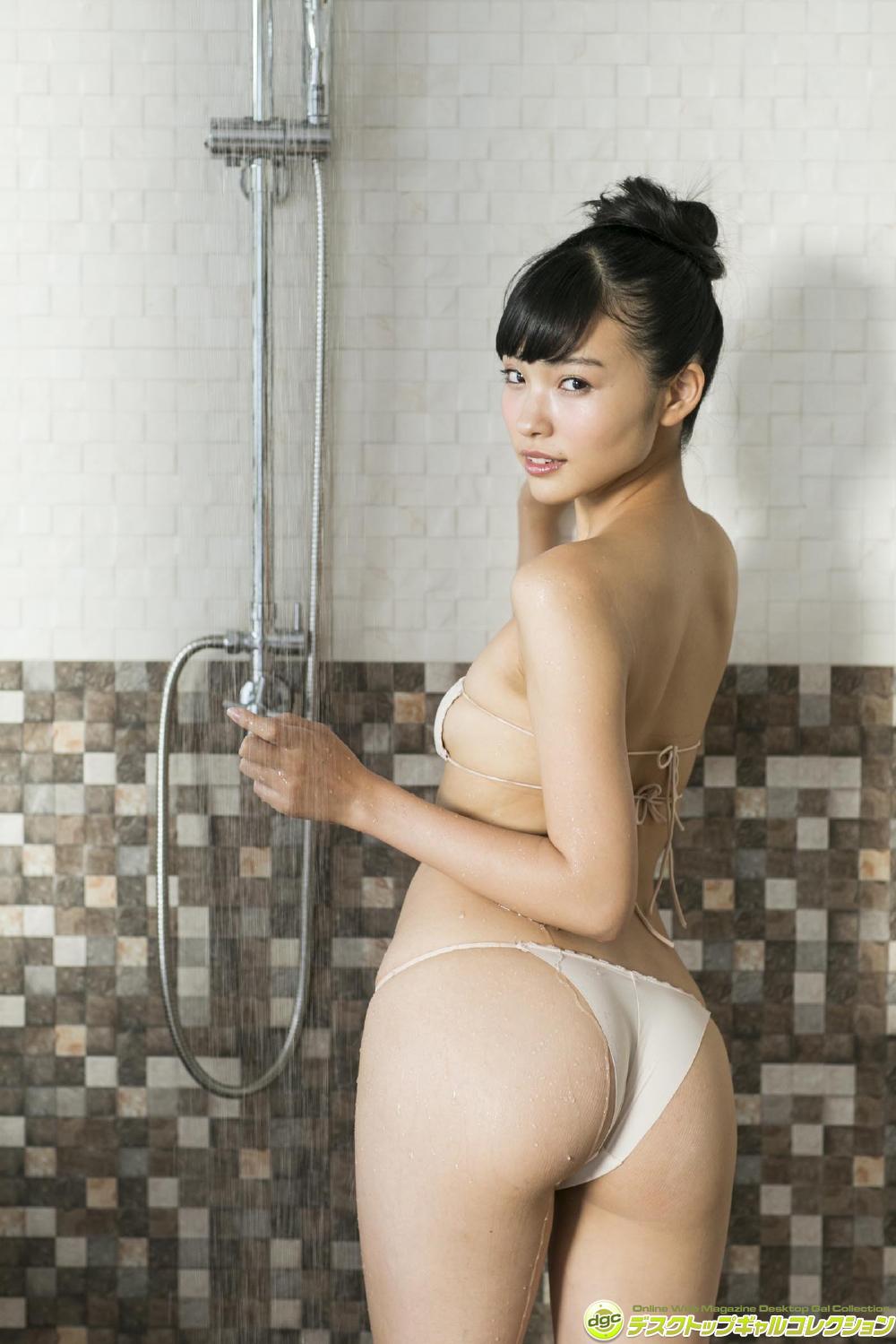[DGC] 2017.07 Karen Koyabayashi 小林かれん 誰もが恋するキュートな美尻をまるかじり! [100P77.7MB]
