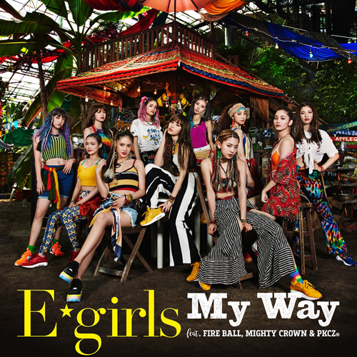 20180808.1137.2 E-Girls - My Way (FLAC) cover.