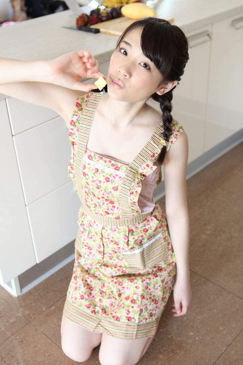 [@crepe] 2017.04.02 Miyu Suenaga 末永みゆ エプロン - apron [9.6 Mb] - idols