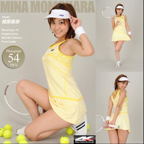 "[4K-STAR] 2017-07-07 No.00944 桃原美奈 Mina Momohara 「テニスウエア ""Tennis wear"" [73.2 Mb] - idols"
