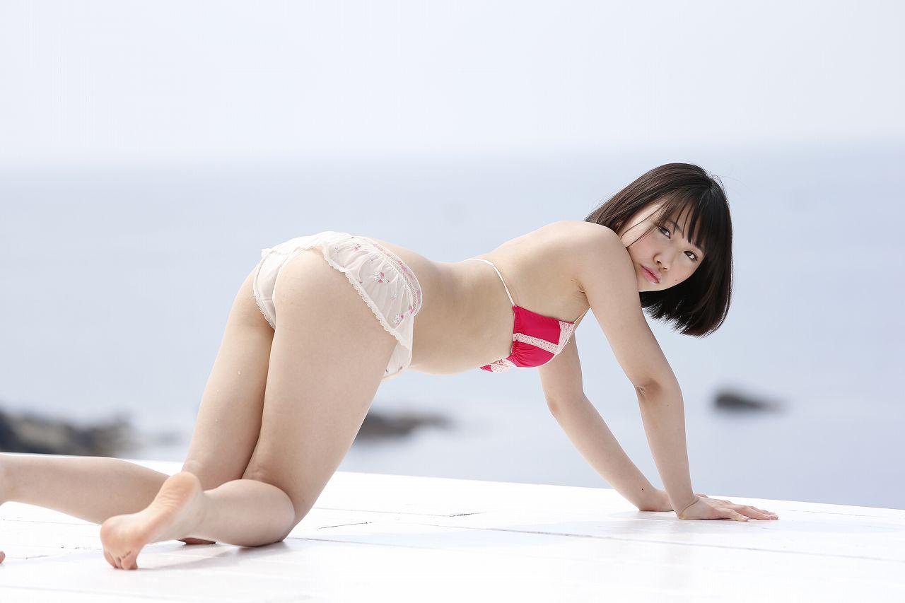 [@crepe] 2017.04.27 Miku Takaoka 高岡未來【DVDヨロシク】赤色水着 Red Swimwear [3.9 Mb] - Girlsdelta