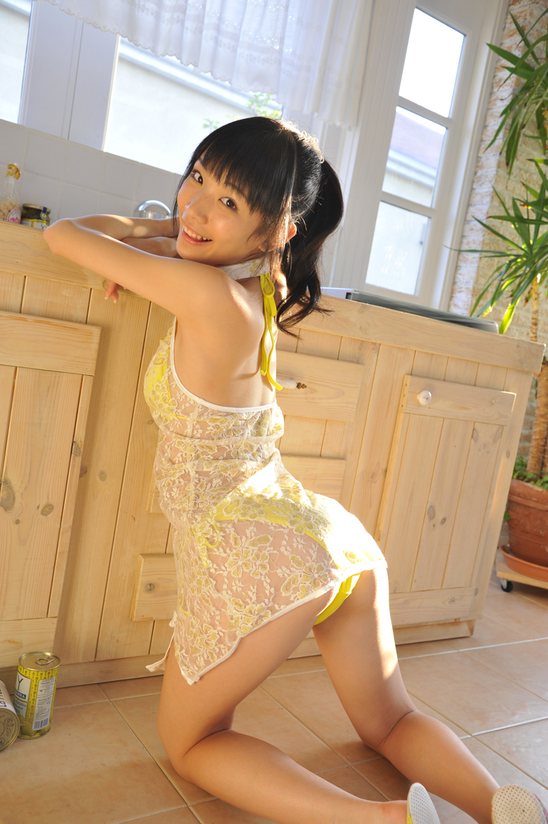 [@crepe] 2017.03.01 Miyu Suenaga 末永みゆ 黄水着【プレイバック更新】 - Yellow Swimwear [11.3 Mb] - idols