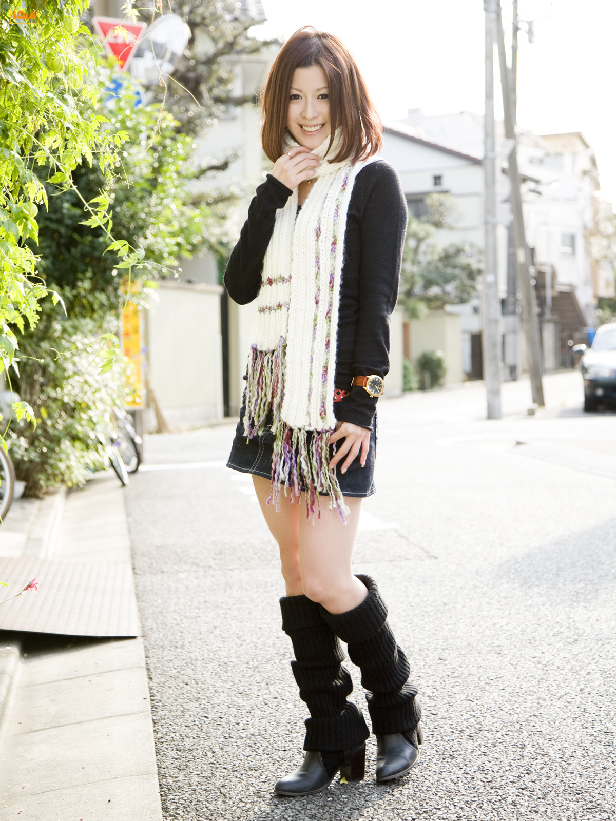 Akiko Hayashi - Bomb.tv 林亜紀子 ~ ぜったい☆才色主義 - idols
