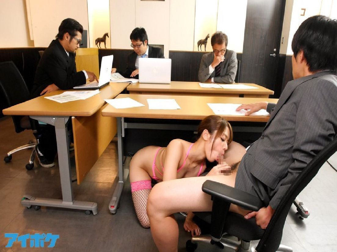 22 fucking office under table catch 8