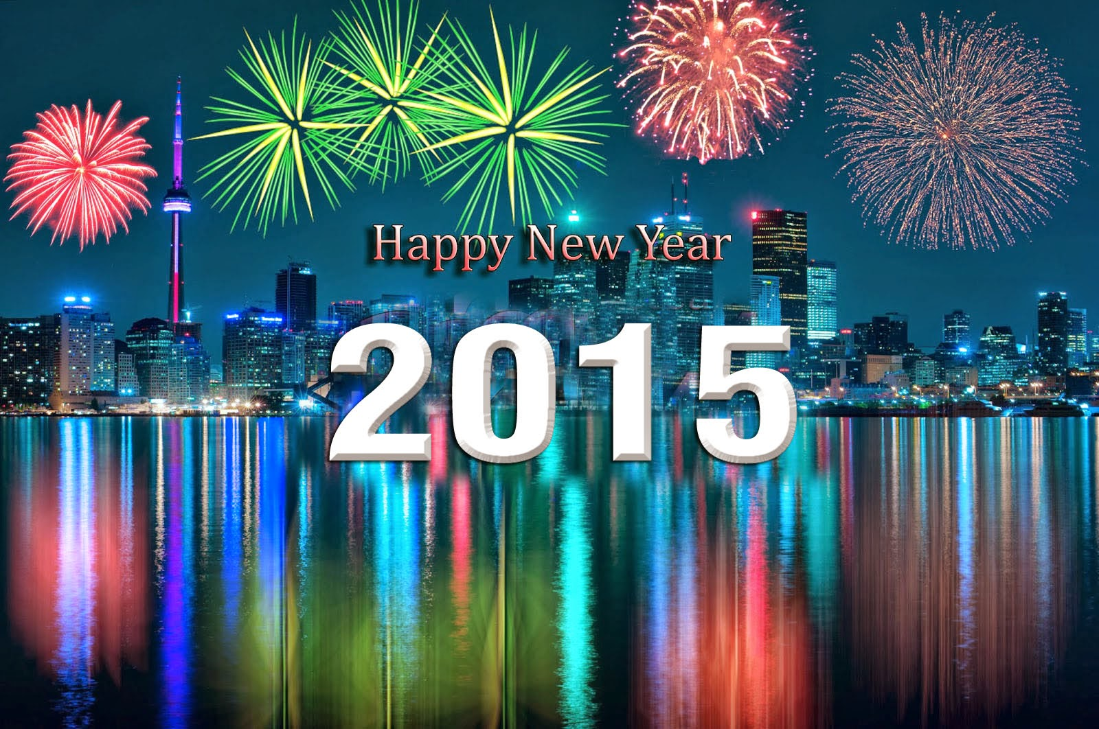 Happy New Year hd wallpaper 2015.