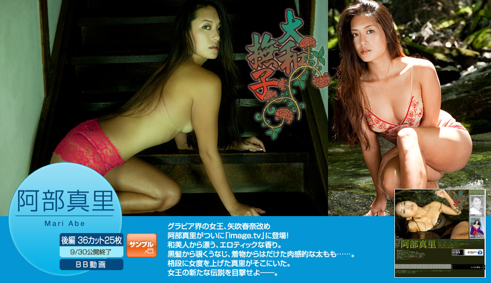 [Image.tv] Mari Abe 阿部真里 (aka Haruna Yabuki) - 大和撫子 後編 (2010.09) [25P10MB]Real Street Angels