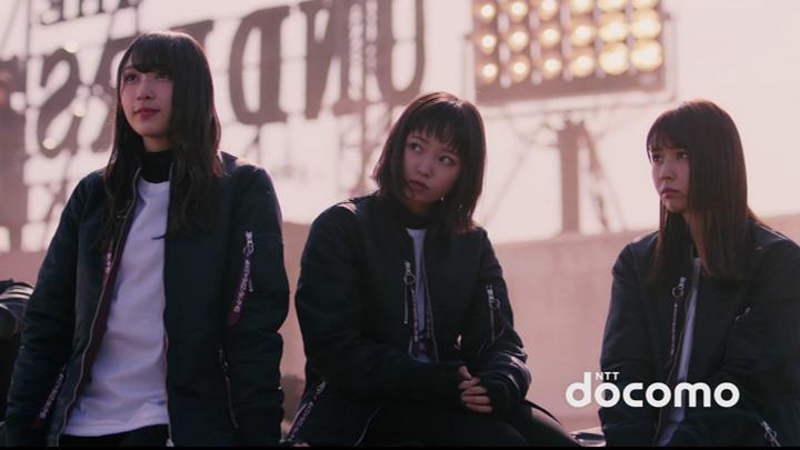 Keyakizaka46 - docomo (CM) (2018.06.15) (JPOP.ru).