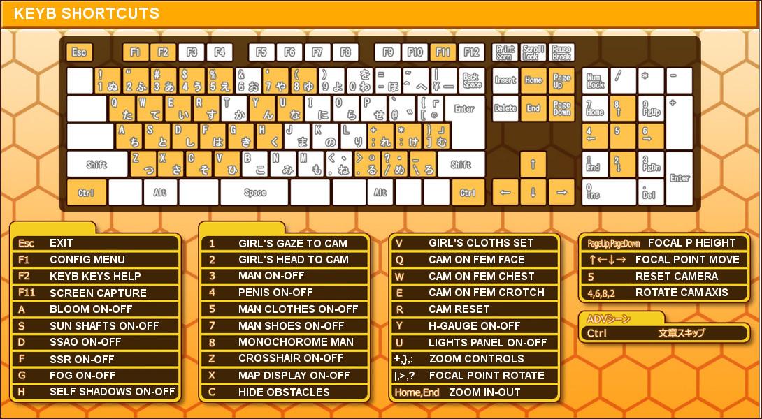 Keyboard Shortcuts (English).