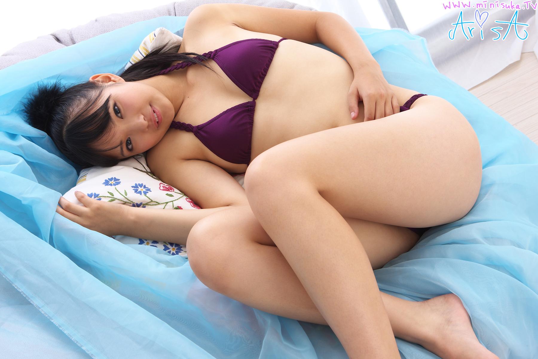 [Minisuka.tv] Arisa Matsuo - Regular Gallery (STAGE1) 04 [20.2 Mb] - idols