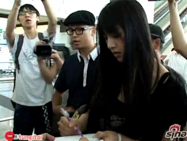 Saori arrived in HK.