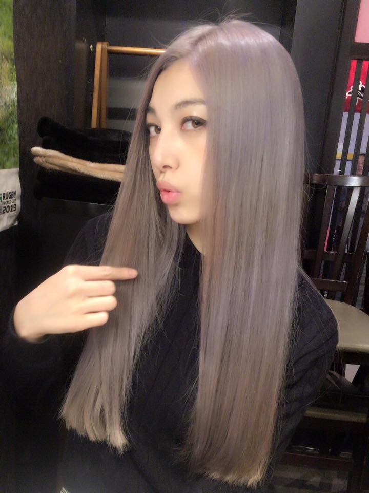 Saori with her Silver hair- 1st March 2016-1.jpg