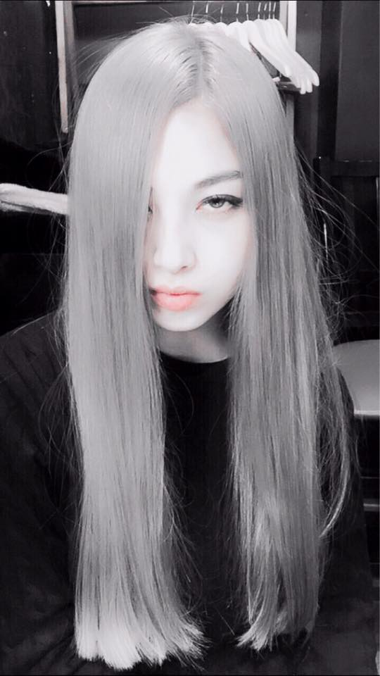 Saori with her Silver hair- 1st March 2016-4.jpg