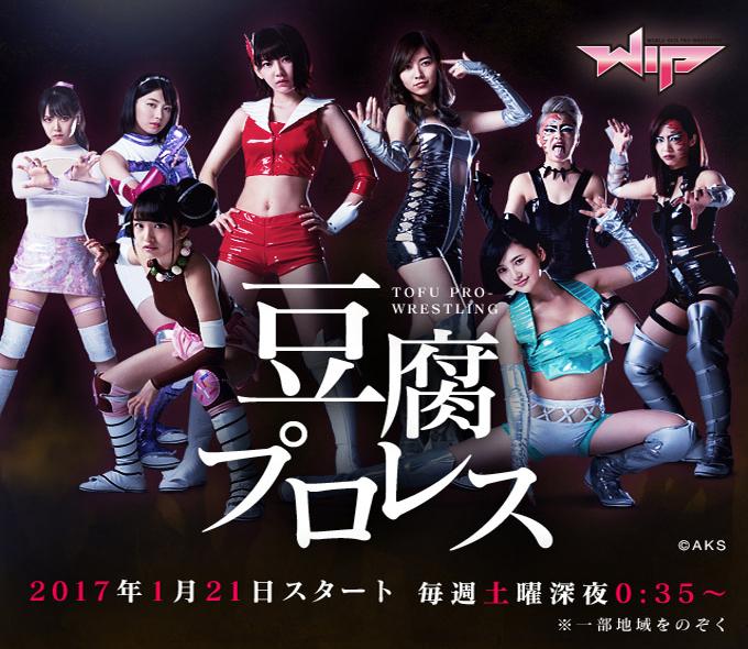 Tofu Pro Wrestling (2017) poster.