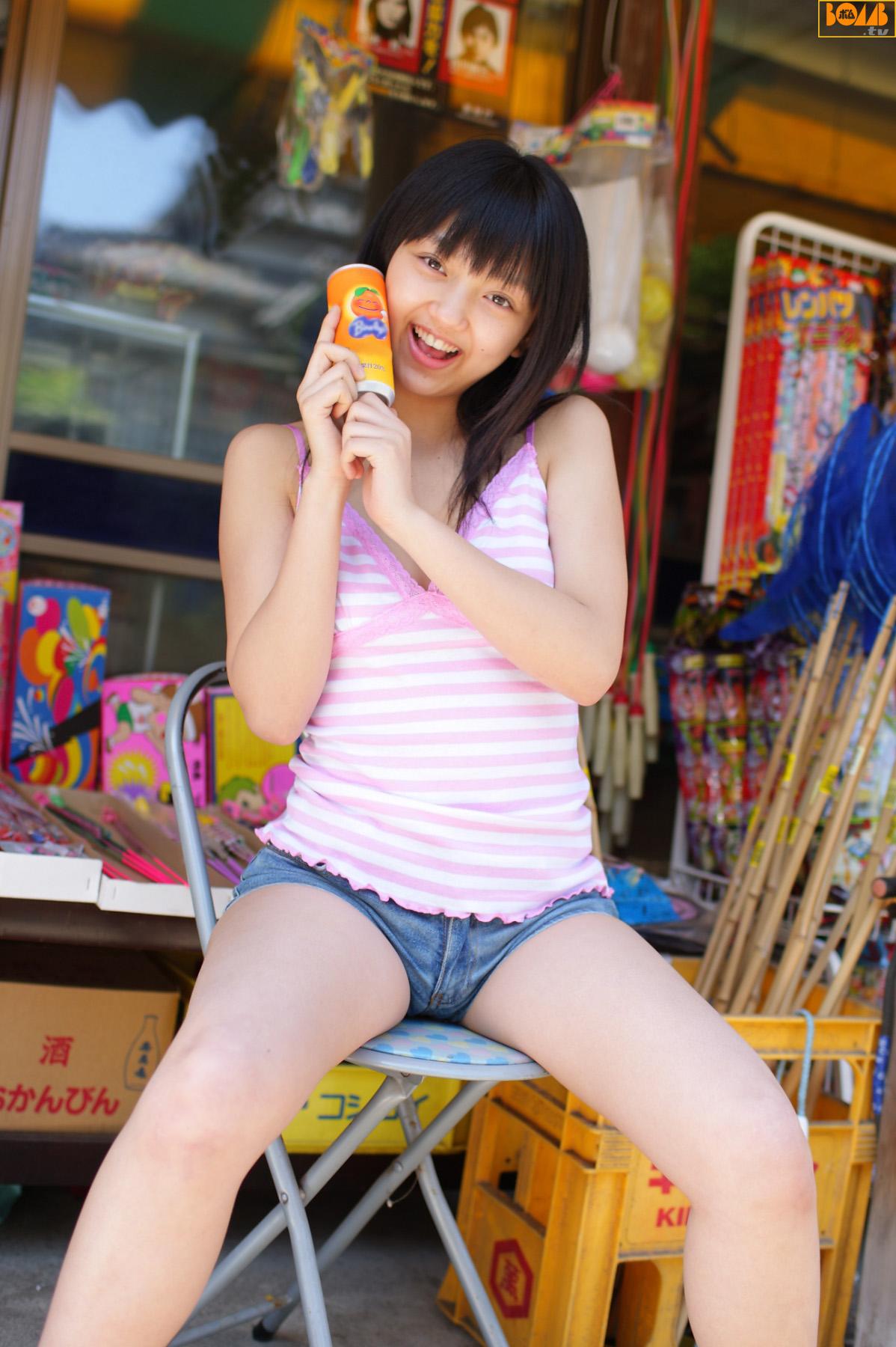 Azusa Hibino - Bomb.tv Channel B 日美野梓 - idols