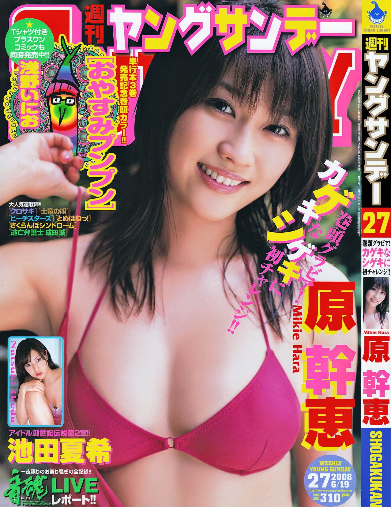 Weekly Young Sunday 2008 No.27 Mikie Hara 原幹惠 (15P/10mb)